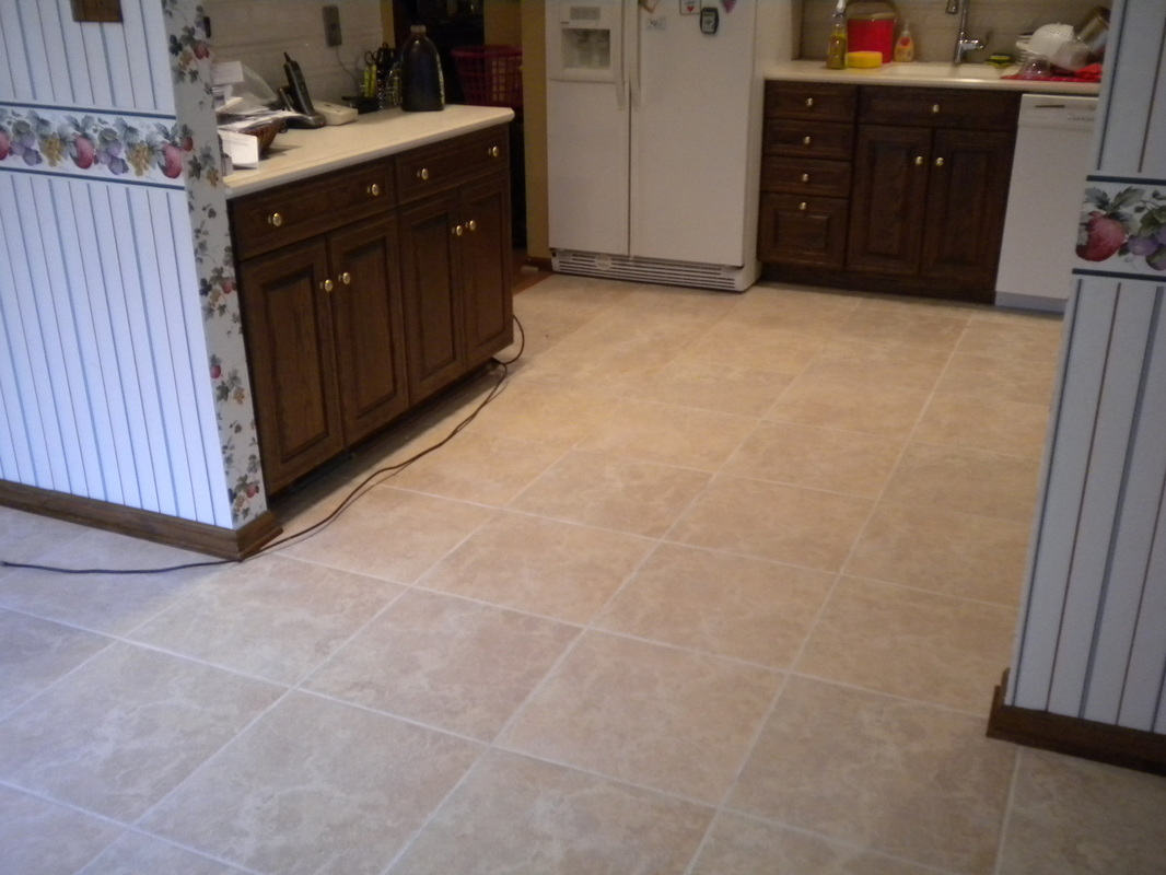 Kitchen And Foyer Tile 18 X